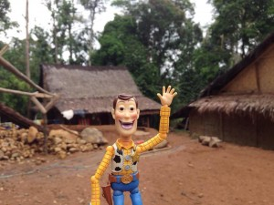 Even Woody really loves it there!