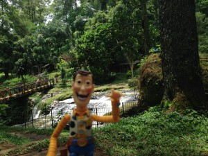 #WoodyJalanJalan at Air Terjun Curug Omas