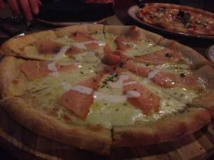 Salmon Pizza